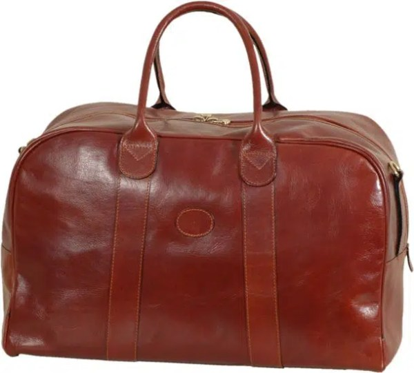 Front Duffle Bag Tuscan Soul Leather