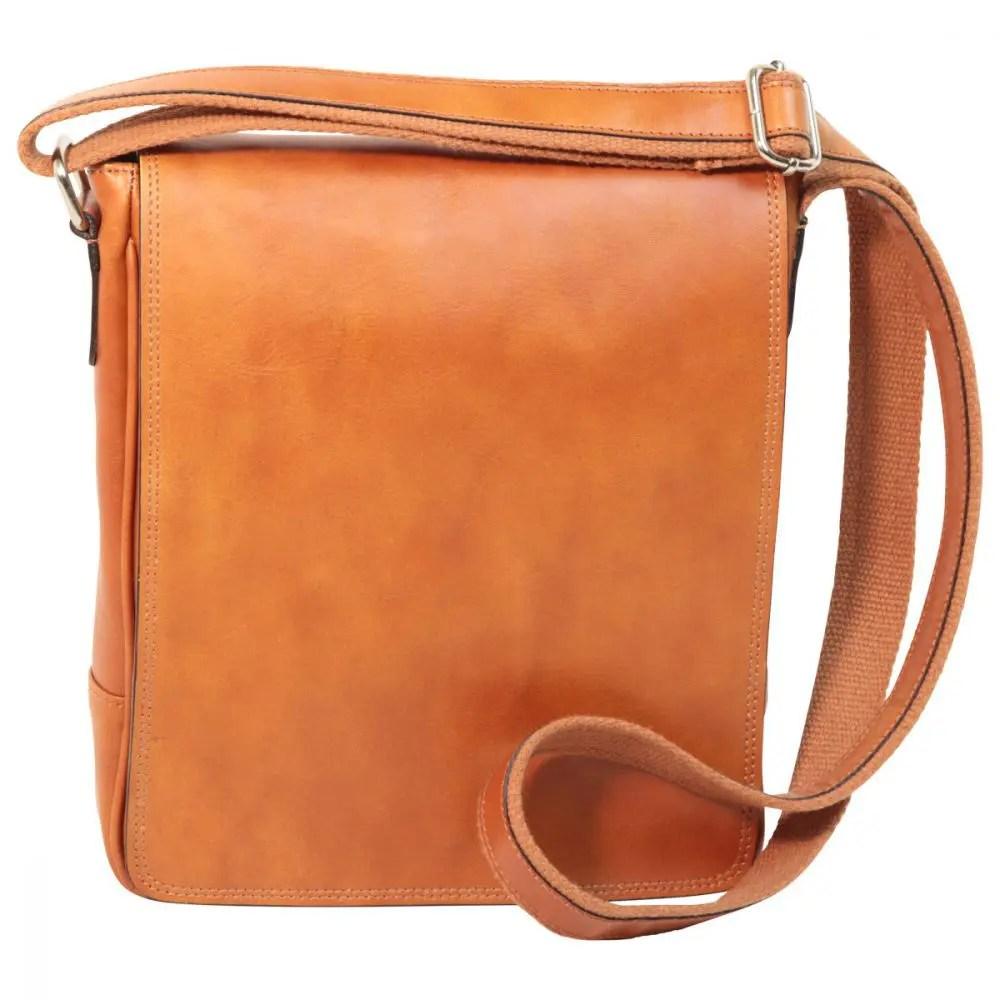 Front IPad Tasche aus Leder Kolonial
