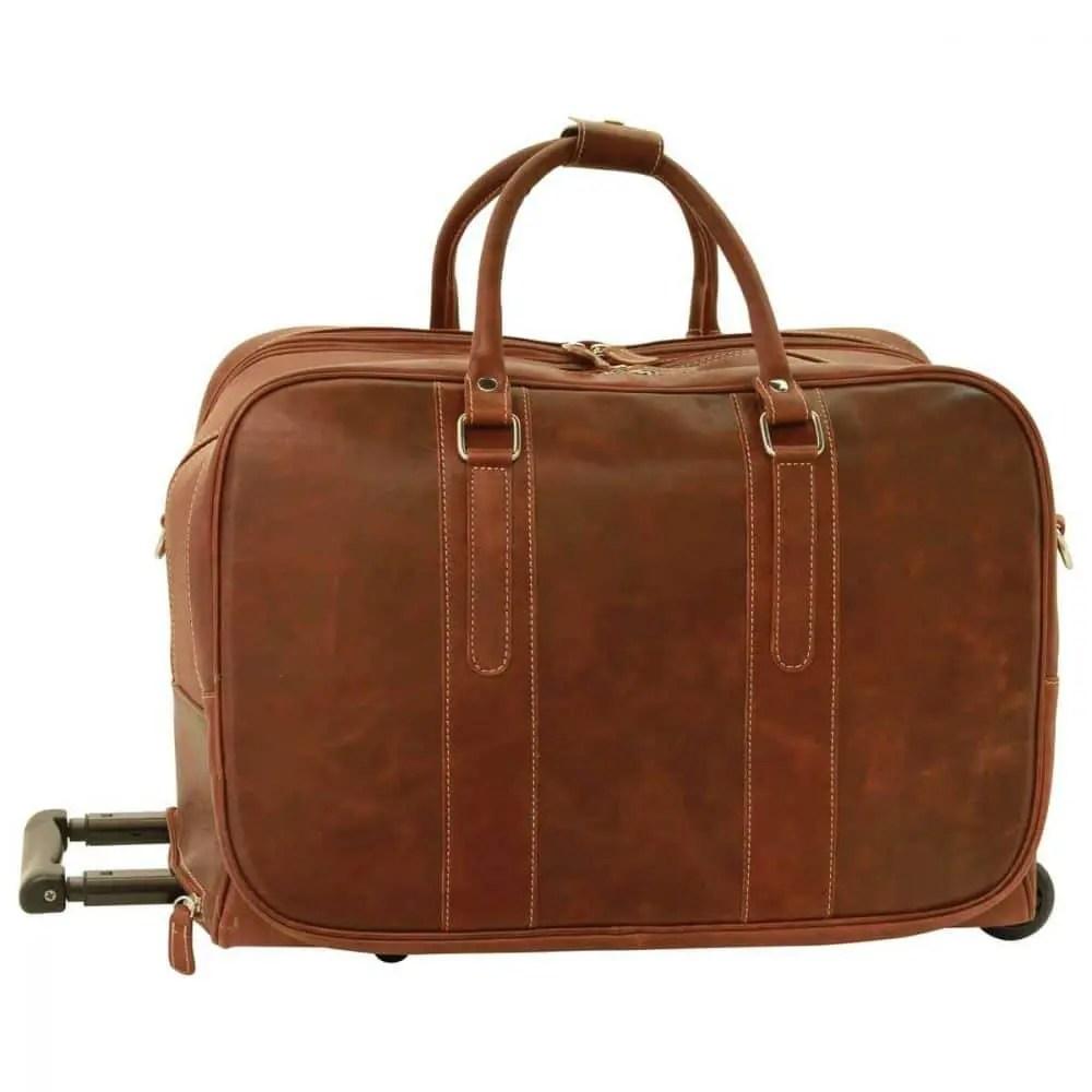 Frontansicht Reisetasche New World Collection Chestnut