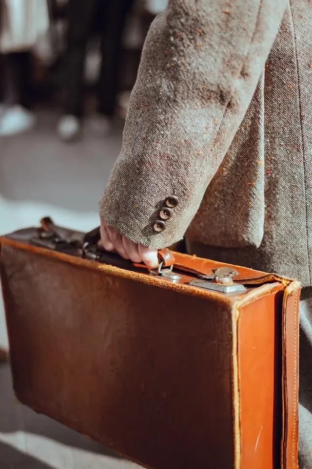 Negativ Beispiel Moderne Aktentaschen für Männer