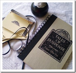 A Gothic Tale Matching Stationery by Redeem Designs on Etsy