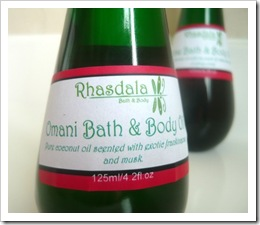 Body OIl - Omani Bath and Body Oil - by Rhasdala on Etsy