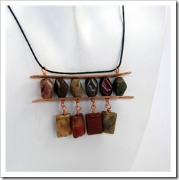 Hammered Copper and Fancy Jasper Pendant_03
