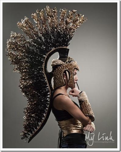 Roman Armor Helmet by Christine  My Linh on Etsy