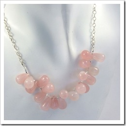 Rose Quartz & Sterling Silver Necklace_11