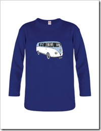 Billy Mac T-shirt - Kombi print