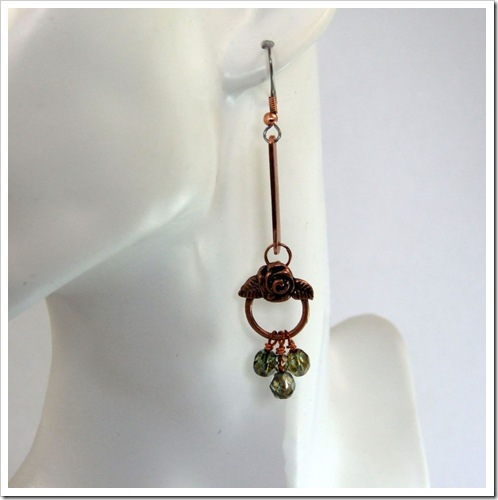 Copper Floral Charm Earrings_05