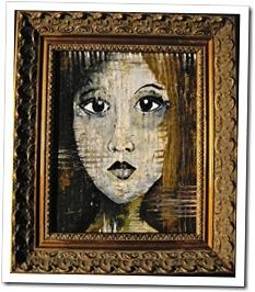 Portrait Modern Art Woman