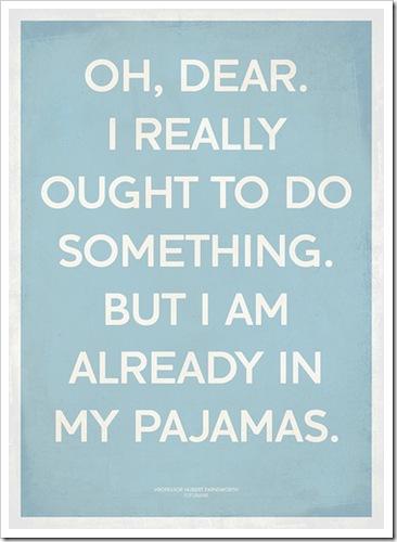 Oh, Dear - Pyjama Day