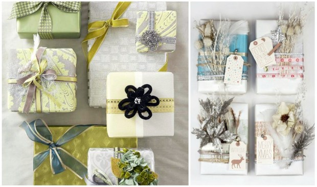 Xmas Wrap Collage 680x402 {DIY} Tuesday   So Many Christmas Wrapping Ideas