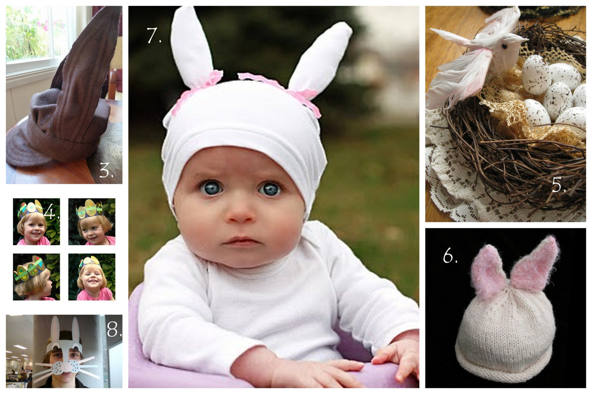 easter bonnets templates - diy tuesday easter hat template collection tasha chawner