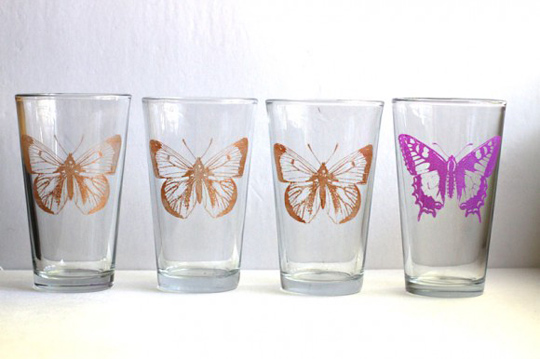 Make Your Own Painted Glassware at The Kitchn