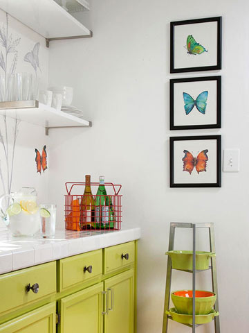 Free Butterfly Art by Amy Kirkpatrick via Better Homes and Gardens