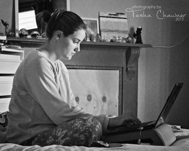 """Writing her """"I'm going to be the next Isobelle Carmody"""" novel"""