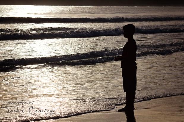Little Man at Byron Bay