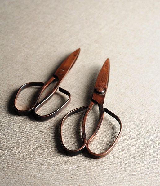 Tajika Handcrafted Copper Scissors