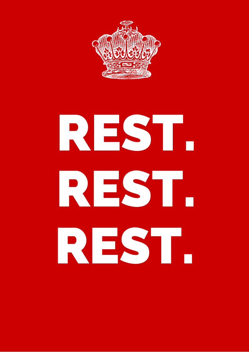 rest poster