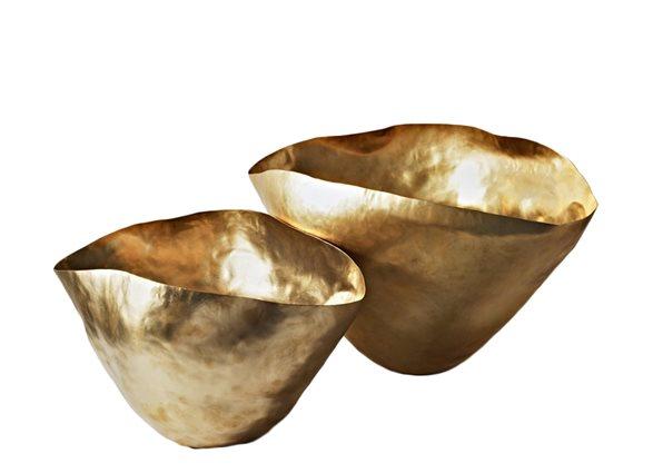 handmade brass vessel
