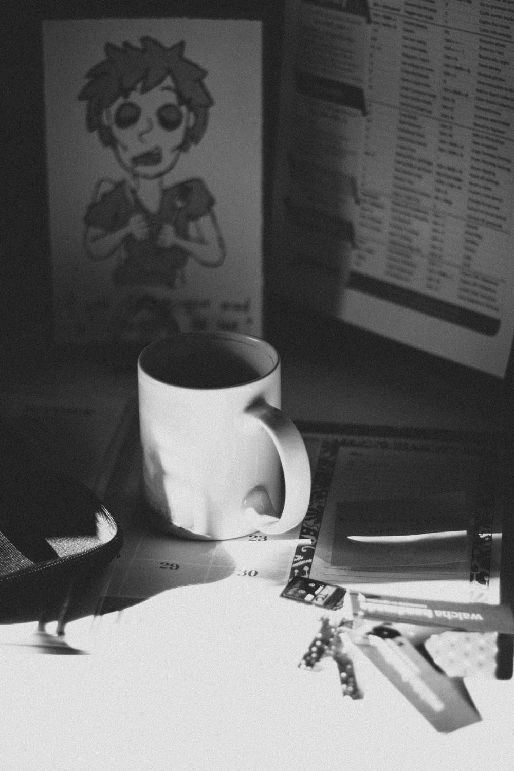 Coffee and morning chaos - there's so much to do on the to-do list... remember to breathe and if it doesn't get done, it will still be there tomorrow.