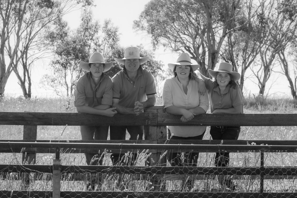 bruce family photo shoot walcha