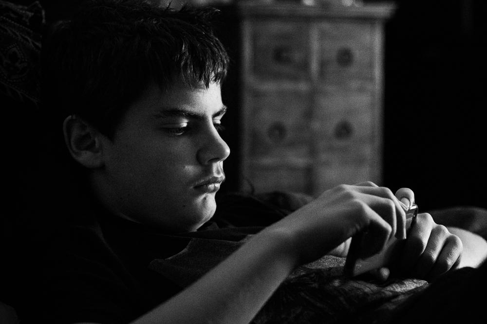 boy with ipod