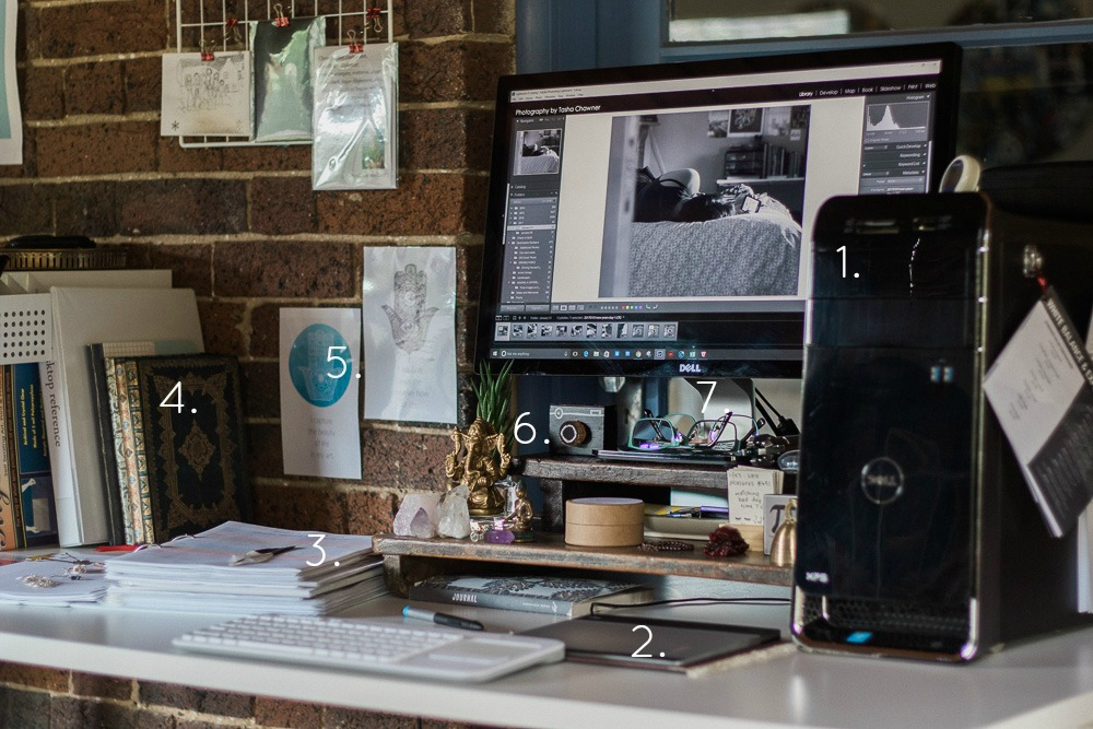 photography by tasha chawner work space