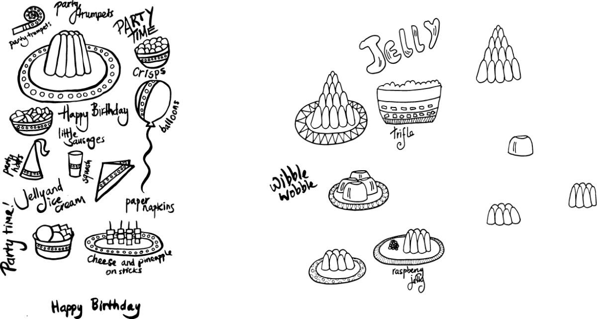 Jelly Sketches © Tasha Goddard www.tashagoddard.com