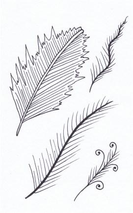 A Mini a Day: Feathers © Tasha Goddard 2014 www.tashagoddard.com