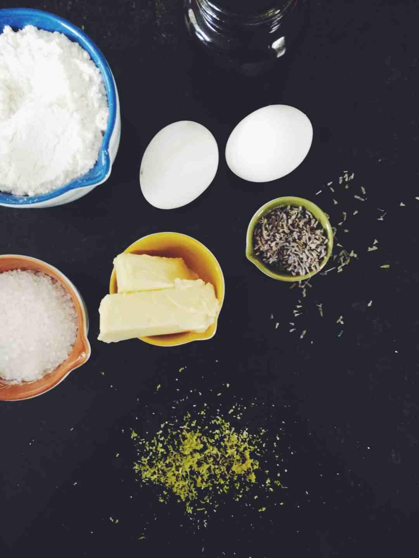 Lavender & Lemon Madeleines