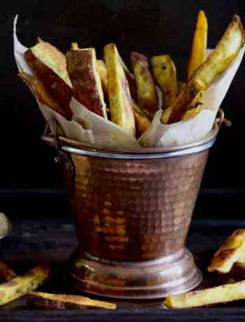 "Sweet Potato Oven ""Fries"""