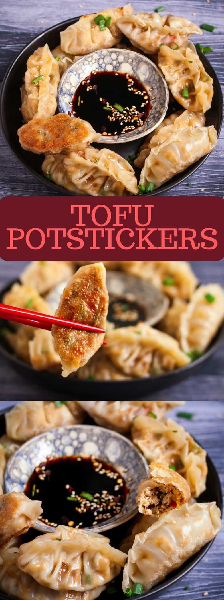 Tofu Potstickers | easy recipe