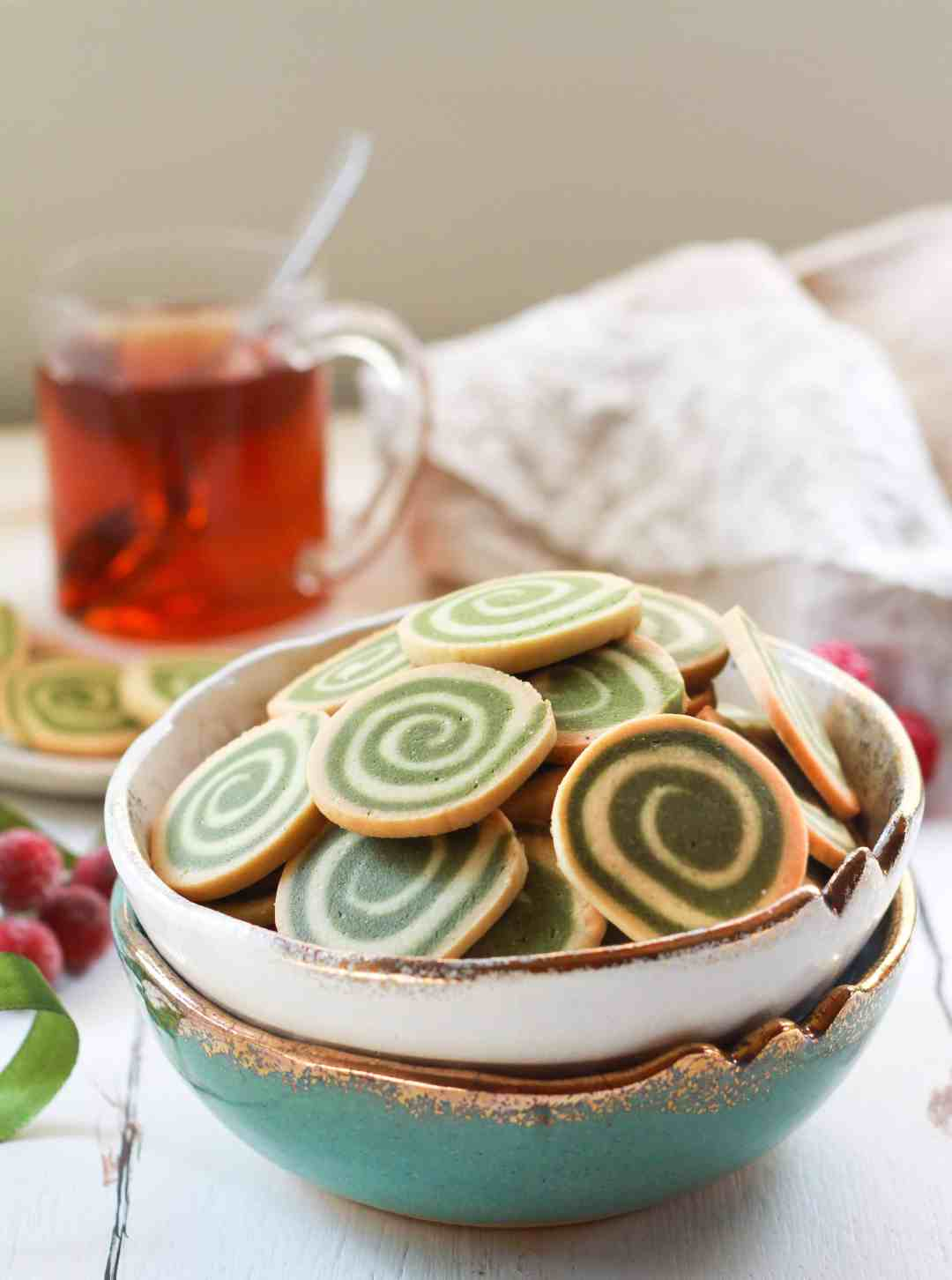 Pinwheel Cookies Christmas Holiday Festive