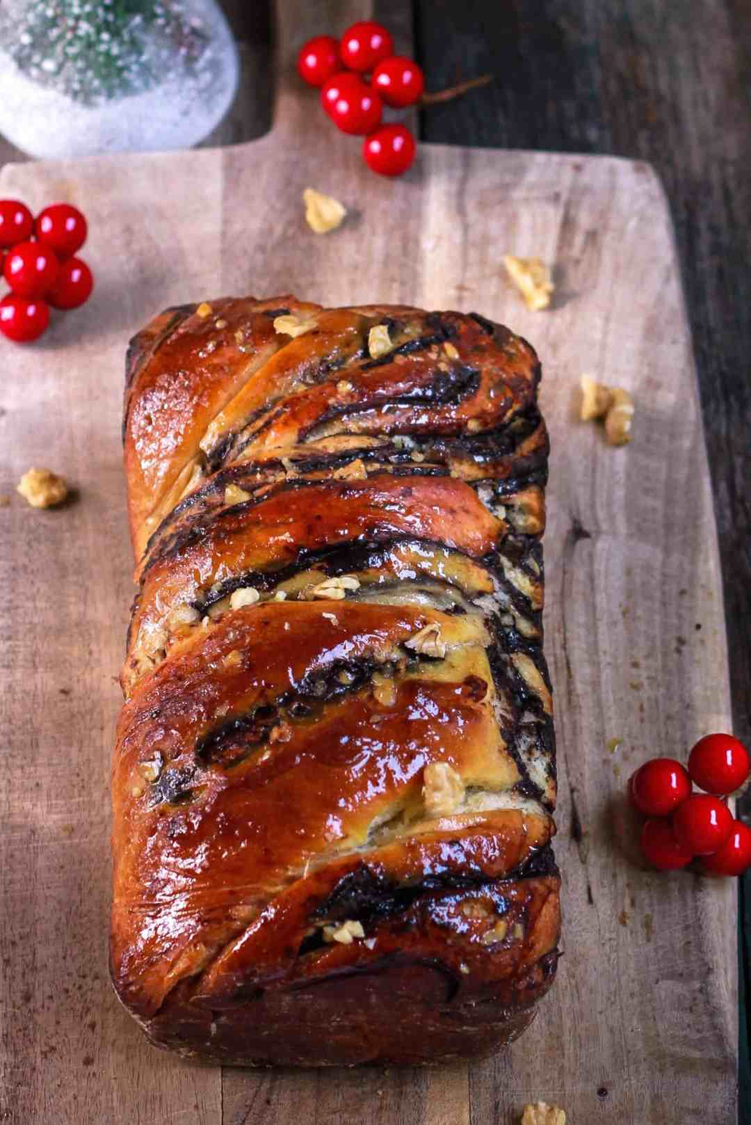 Chocolate Babka dessert Krantz Cake baking bread