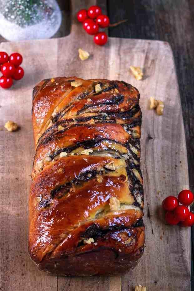 Chocolate Babka dessert Krantz Cake baking bread