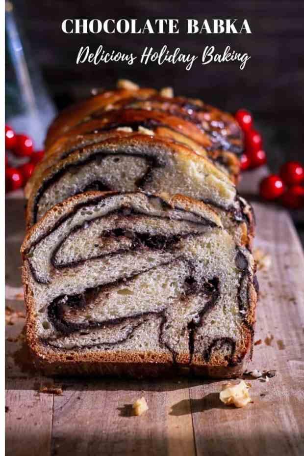 Chocolate Babka dessert baking bread Krantz cake