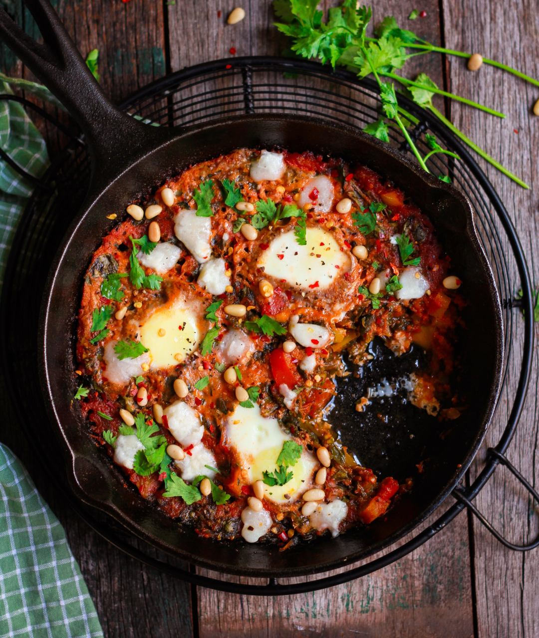 Shakshuka easy egg dish brunch