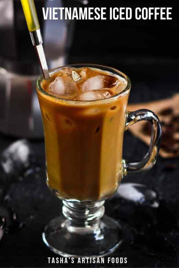 This incredibly refreshing pick- me - up Vietnamese Iced Coffee is the best summer workday companion guaranteed to drive your afternoon slump away! #icedcoffee #vietnameseicedcoffee #summer #beverage