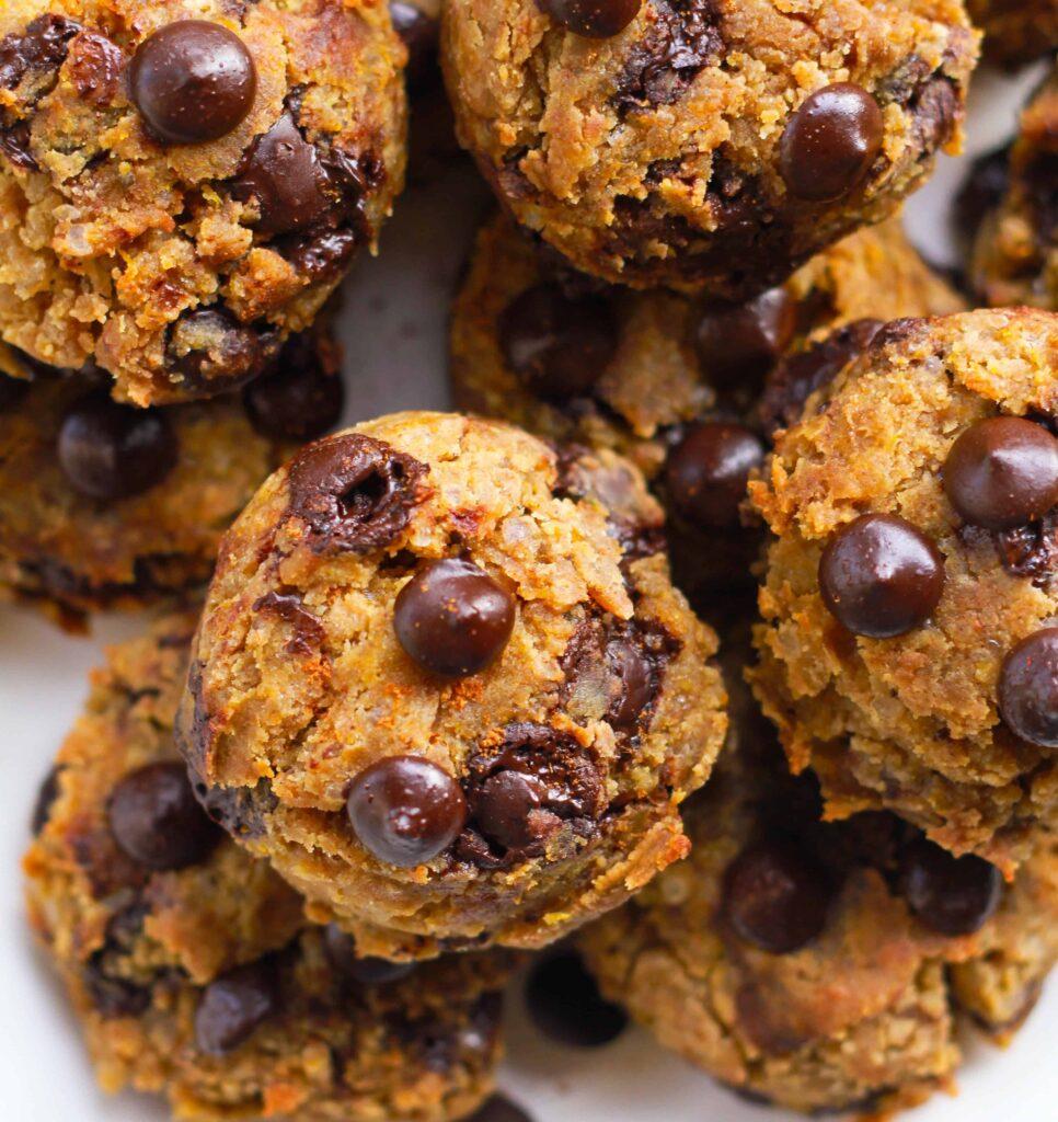 Pumpkin Chocolate Chip Cookies | vegan glutenfree baking