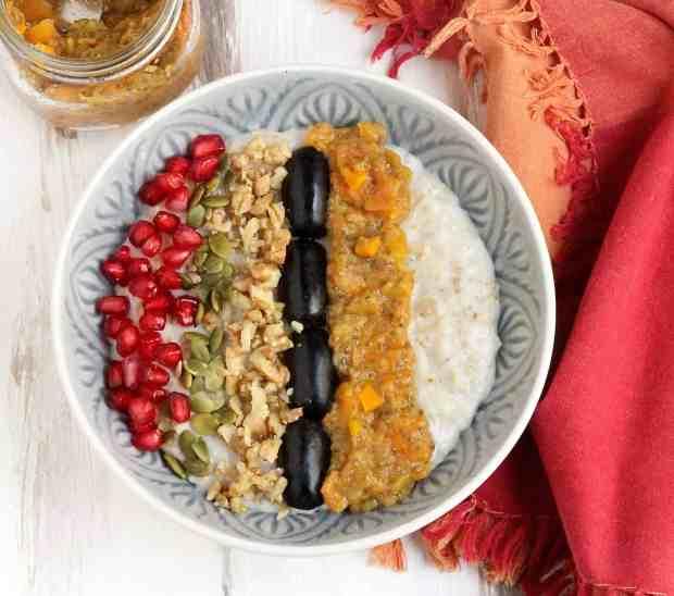 Persimmon Chia Jam w/ Turmeric & Ginger