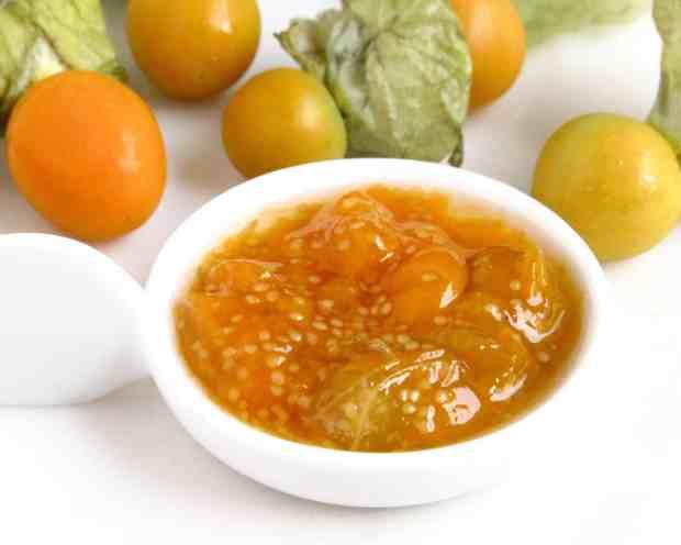Saffron Chia- Poha ( flattened rice) Pudding & Gooseberry Compote
