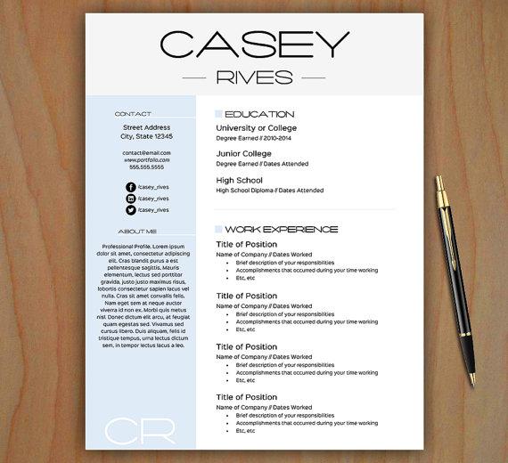 Free Stylish Resume Templates  task list templates