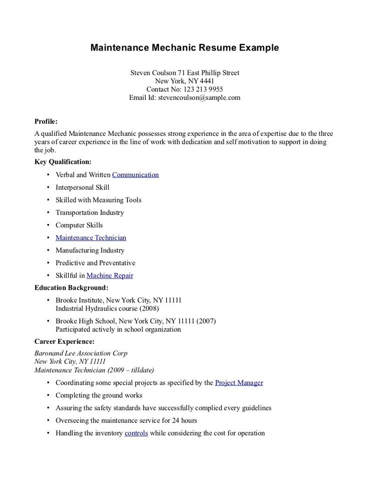 graduate cv example no work experience