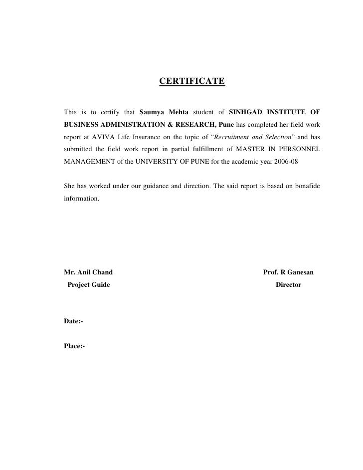 Insurance Declaration Page Sample