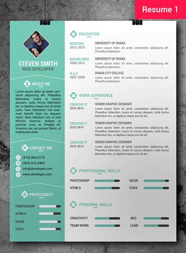 resume template word 2017