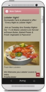 Popovers.com Mobile site