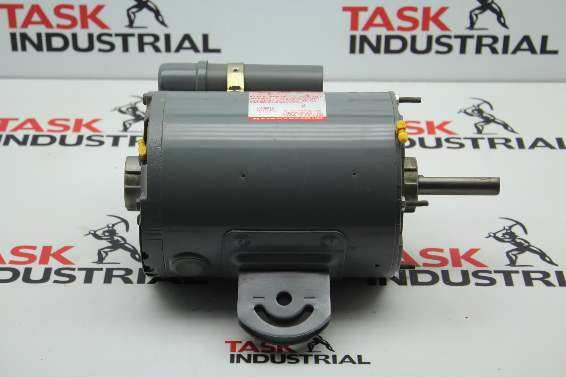 Dayton Fan Motor Model 3m505b 1 2 Hp 1075 2spd Rpm 48y