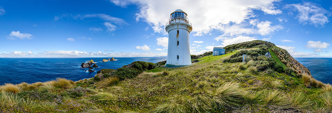 Maatsuyker Island lighthouse  360 panorama  Tasmania 360