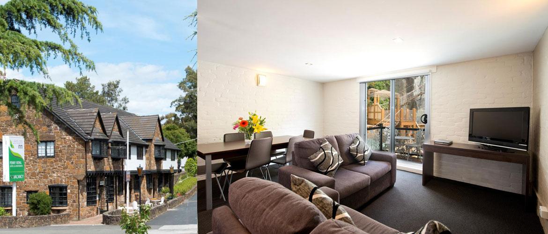 Launceston - Penny Royal Hotel - 2 Bedroom Apartment