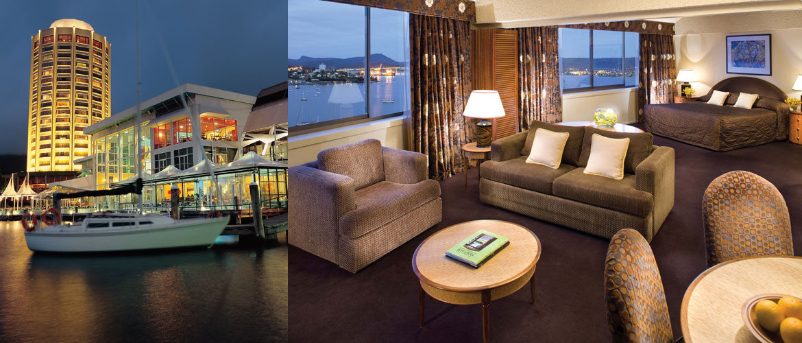 Hobart - Wrest Point Hotel - Executive Suite