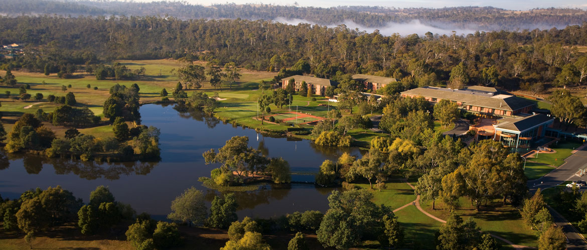 Expansive Grounds at Country Club Tasmania Resort